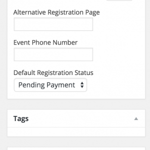 Select an event category – you can create a new category if necessary – this will help keep Jubilee Events well organised