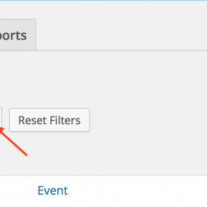Click Event Check-In, select your event from the list, then click Filter