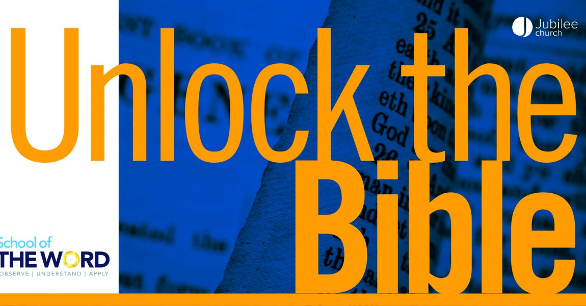 Unlock The Bible Term Two | 2019-20