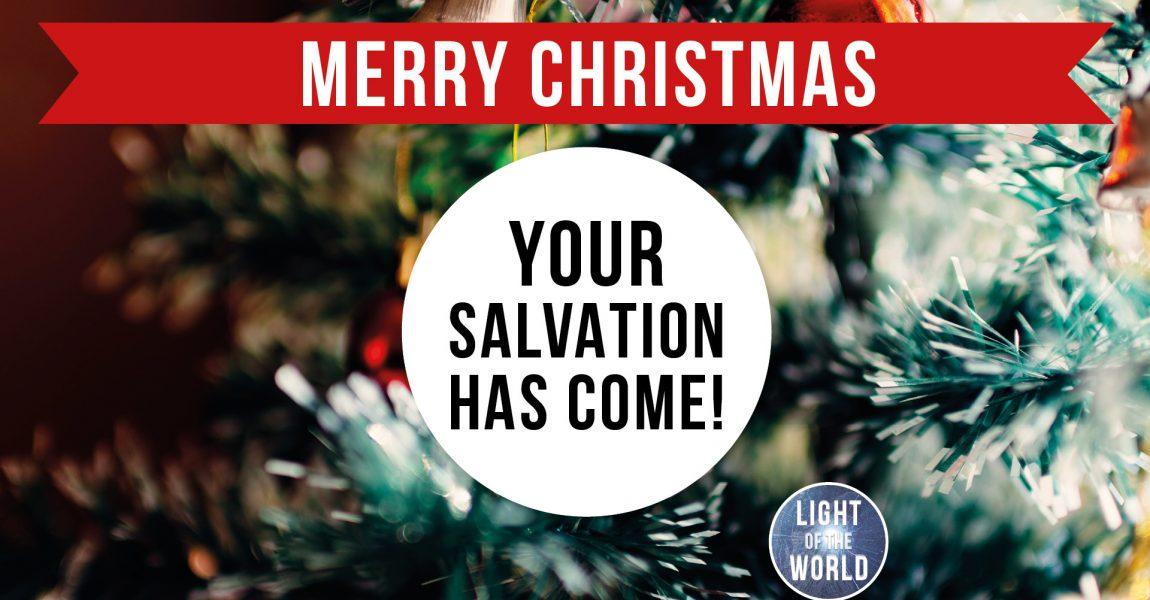 Light Of The World | Advent Series | DAY TWENTY-FIVE