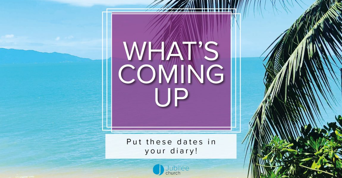 What's Coming Up
